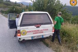 SQUADRA DI SCOUT RECUPERATA DAL SOCCORSO ALPINO