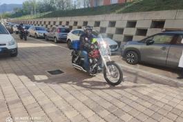 MOTOCICLISTI PER L'EMERGENZA COVID