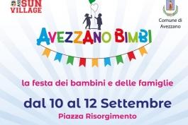 La festa dei bimbi sbarca ad Avezzano