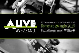 Al via Alive Avezzano 2016