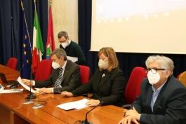 IL PRESIDENTE MARSILIO ALLA RIUNIONE UNITA' DI CRISI