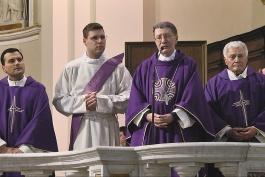 Avezzano saluta il Vescovo, Monsignor Pietro Santoro.