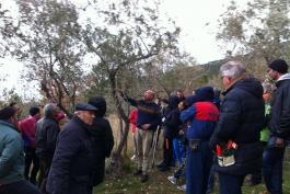 Grande partecipazione al corso di potatura di olivo, melo e vite a Gioia dei Marsi
