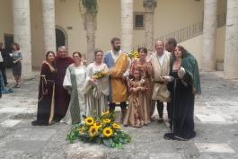 Matrimonio in stile medievale a Celano, ecco le immagini