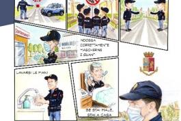 PARTE NELLE SCUOLE LA CAMPAGNA INFORMATIVA ANTI COVID 19