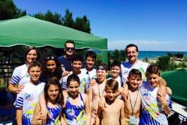 Gli esordienti dell'Avezzano Nuoto ai campionati regionali