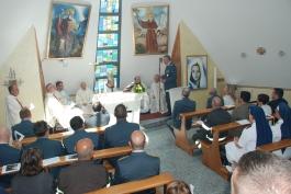 La Cappella del Comando Regionale della Finanza, dedicata a San Gabriele dell'Addolorata