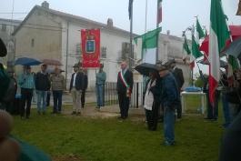 Inaugurato a Santa Jona il monumento ai Caduti delle Due Guerre